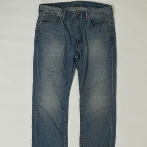 Levis Regular  Blue 38x30 559 Cotton Solid